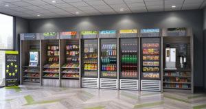Touchless Vending Machine VA